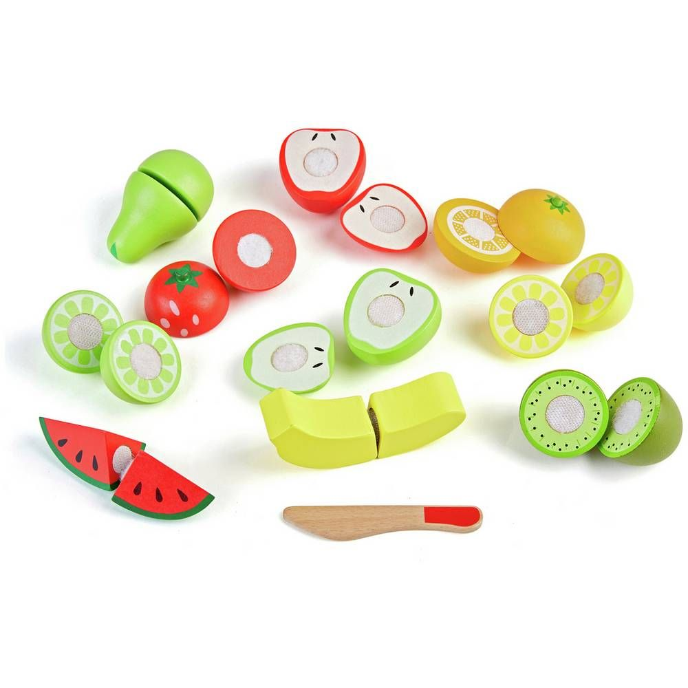 Buy Chad Valley Wooden Fruit Set Role Play Toys Play Toys