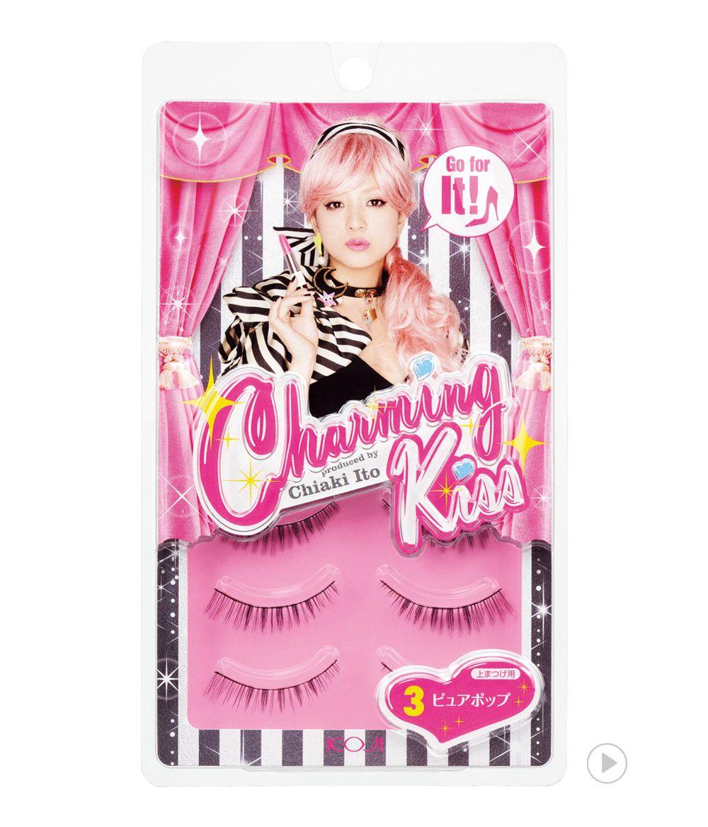 Charming Kiss Eyelash No.3 Pure Pop                              챠밍키스 아이래쉬 NO.3 퓨어 팝