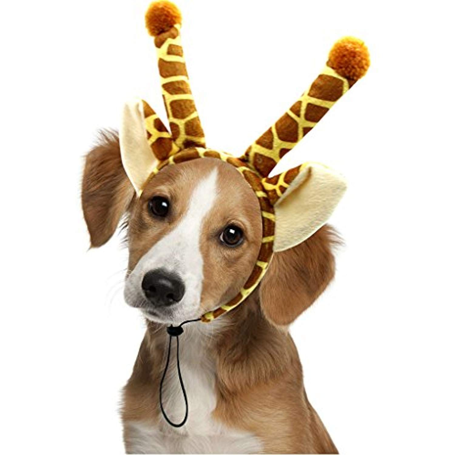 Dog Headband Costumes Holiday Party Birthday Wearable Giraffe
