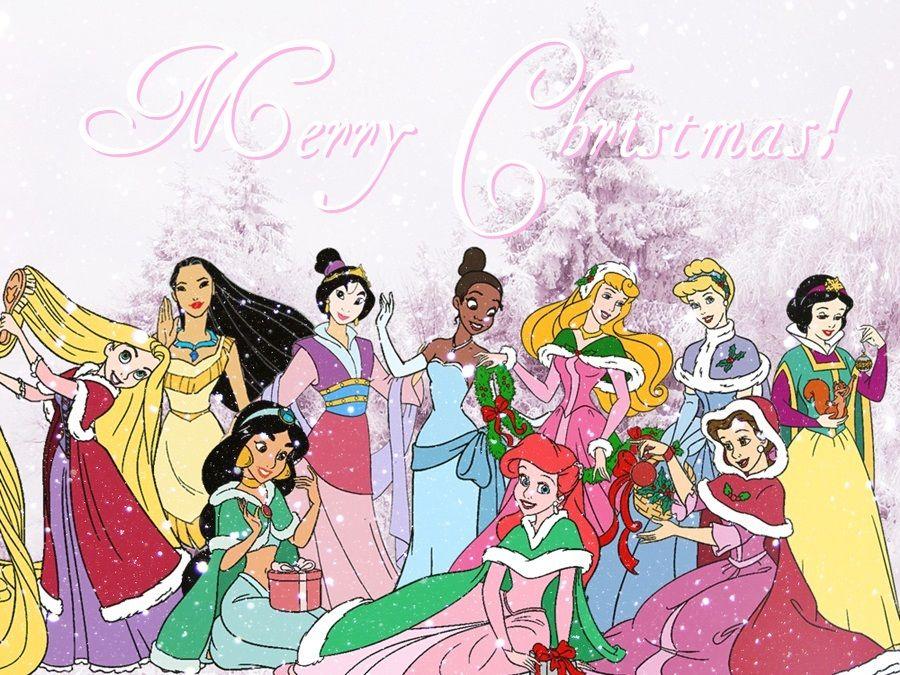 disney princess christmas | Disney Princess A very royal christmas ...