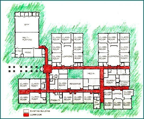 Elementary School Building Design Plans | Yacolt Primary School Plans