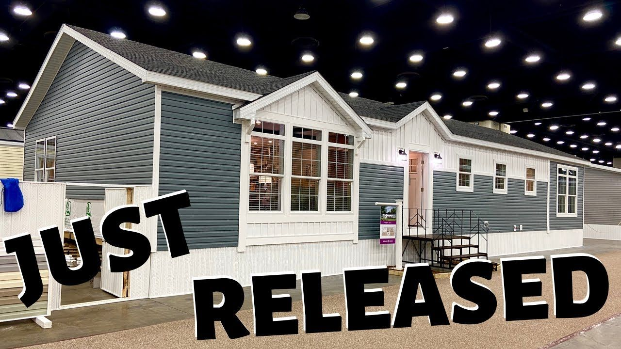 Home Just Released On The Market Raised Roof Double Wide Modular Home All Inclusive Home Tou Modular Homes Double Wide Manufactured Homes Best Modular Homes