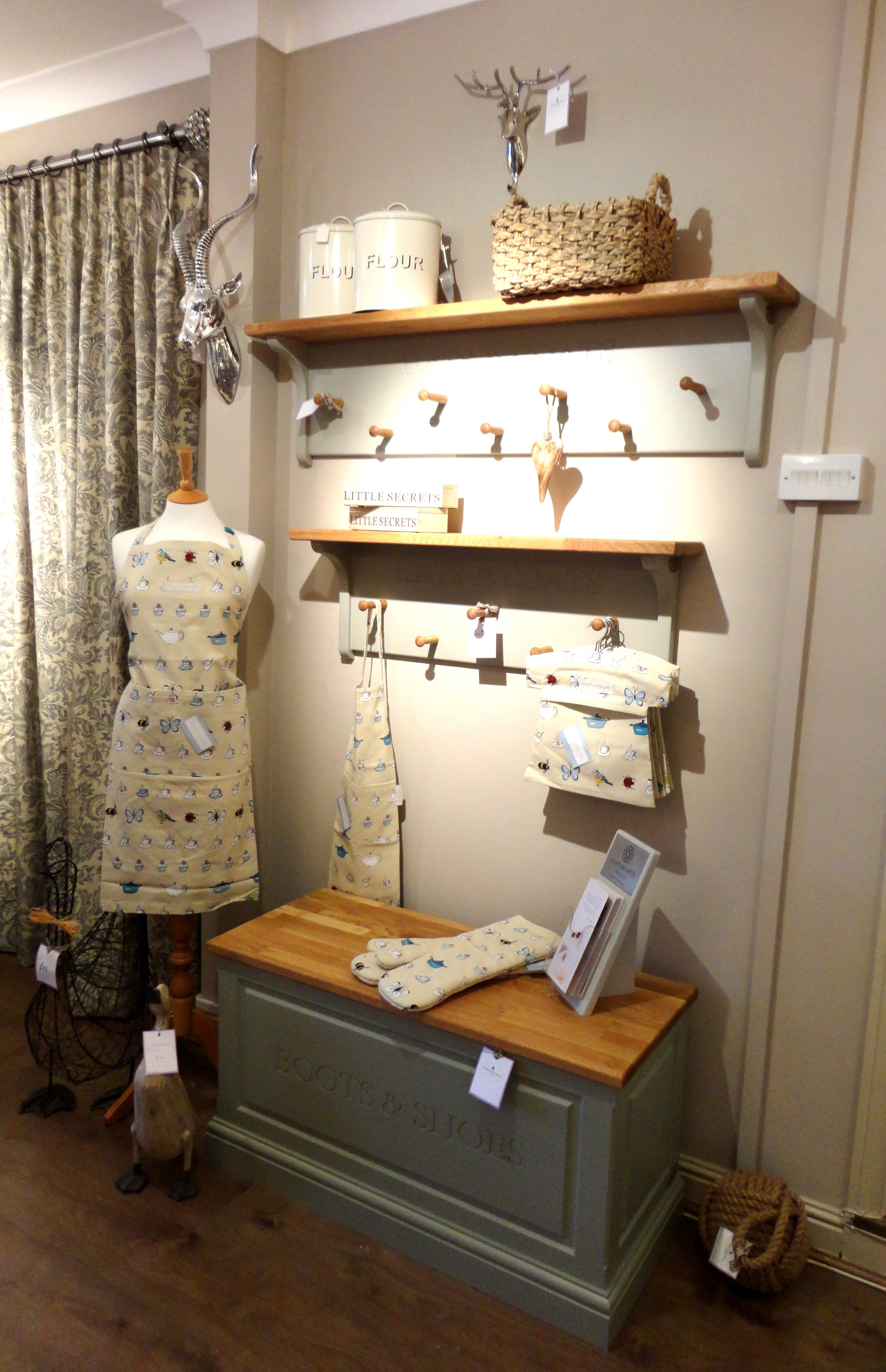 Country Kitchen with Sophie Allport apron