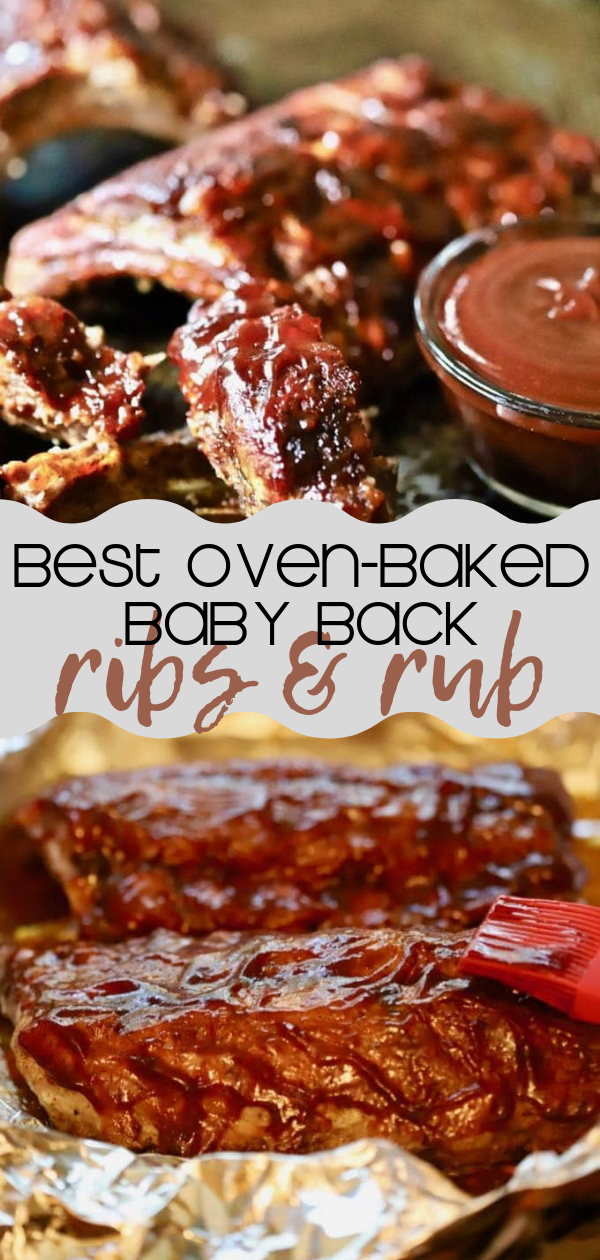 Oven-Baked Baby Back Ribs Recipe and Dry Rub | gritsandpinecones.com