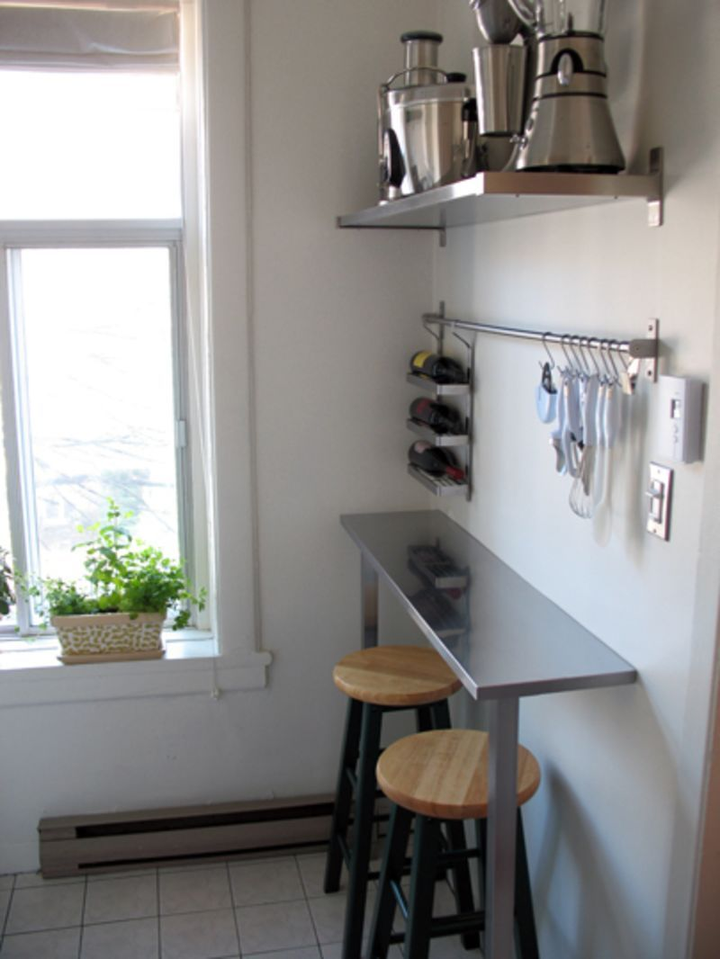 Small Spaces, Canadian Style   Kitchen bar table ...