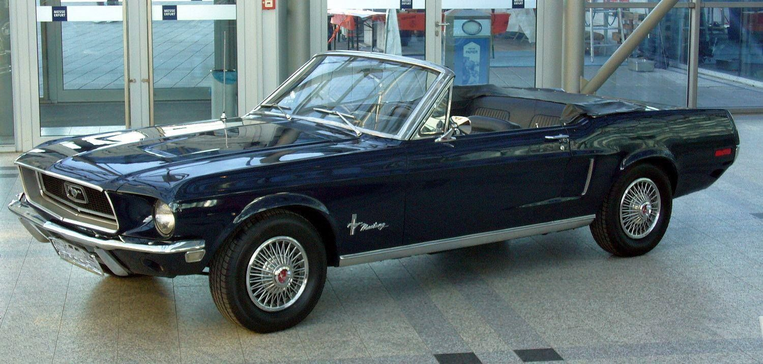 1968 ford mustang 302 cabriolet