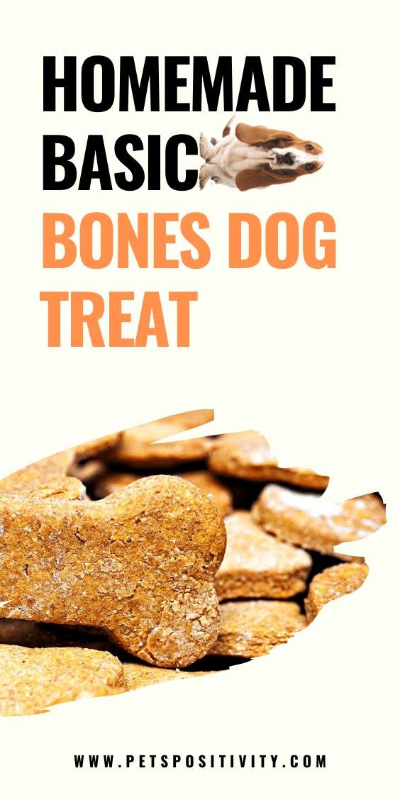 HOW TO MAKE BASIC BONES DOG TREAT AT HOME