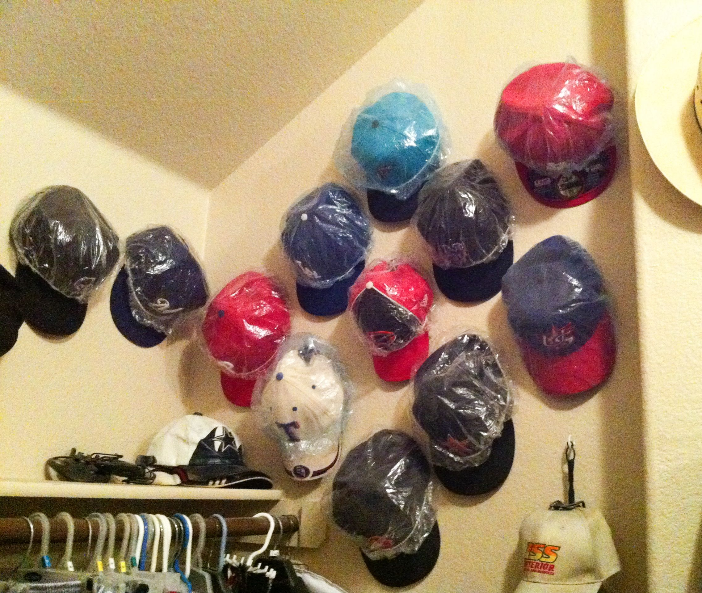 Baseball Hat Storage Solutions
