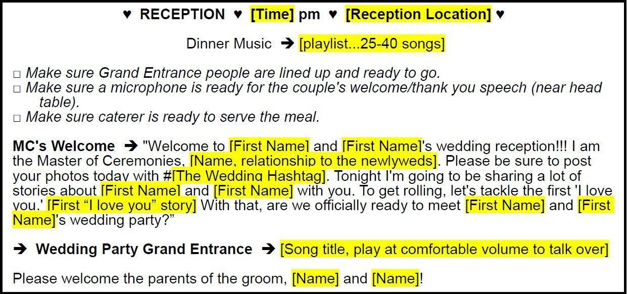 Gift Ideas For Mc At Weddings: Starter Package – DIYWeddingDJMC.com