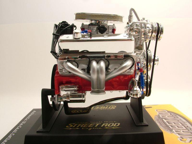 Chevrolet Small Block Street ROD Motor Modellmotor 1 6 Liberty Classics | eBay