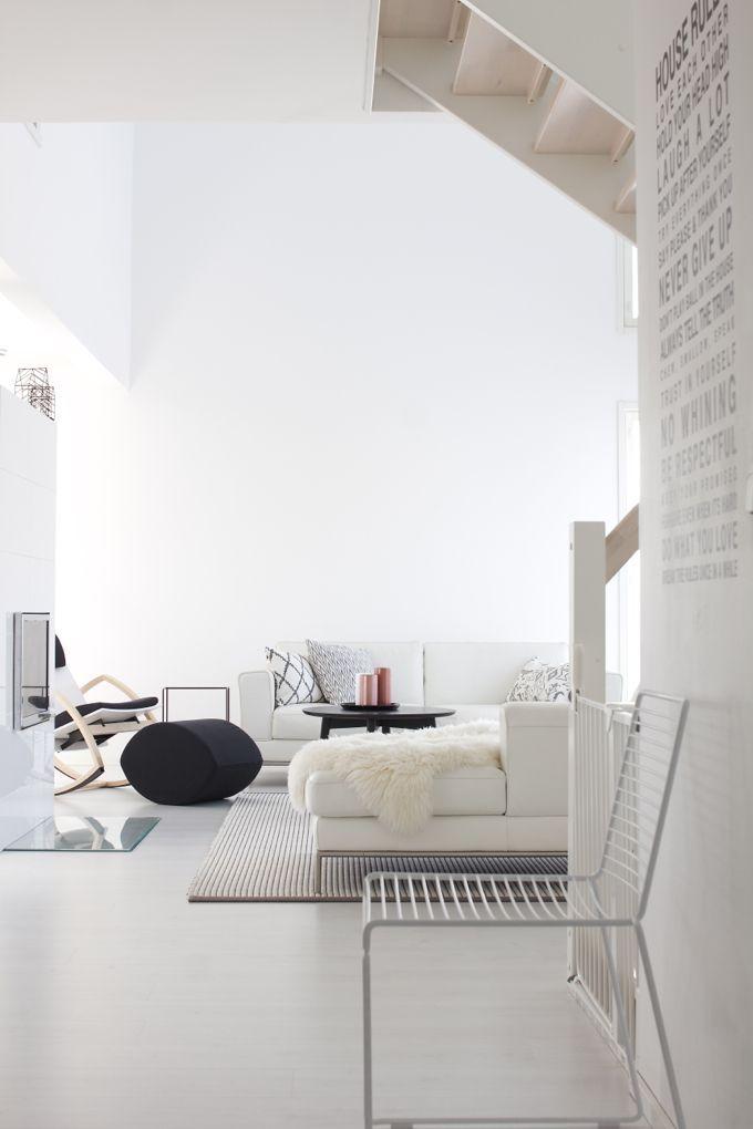 white and minimal