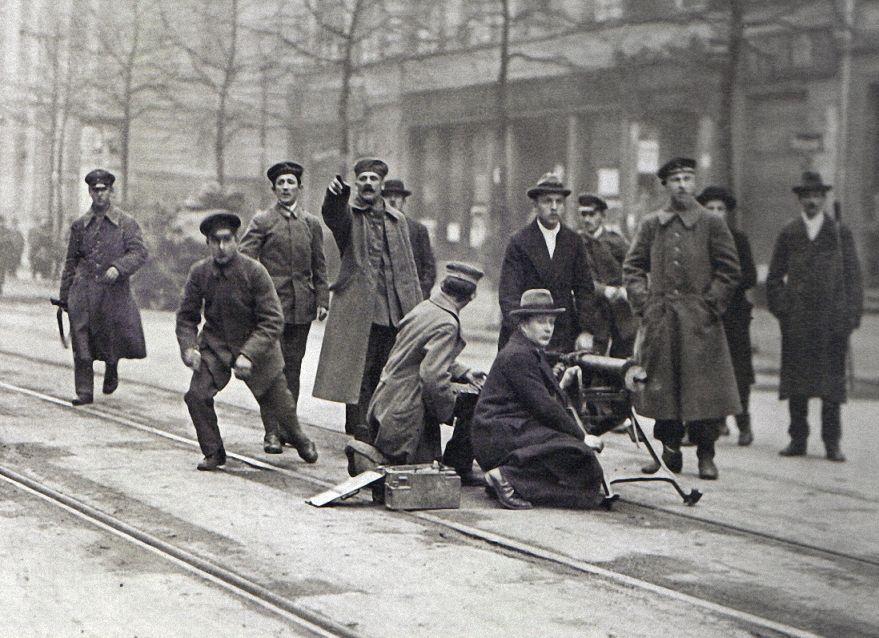 Willy Römer, Berlin, Revolution am 05 Januar 1919.