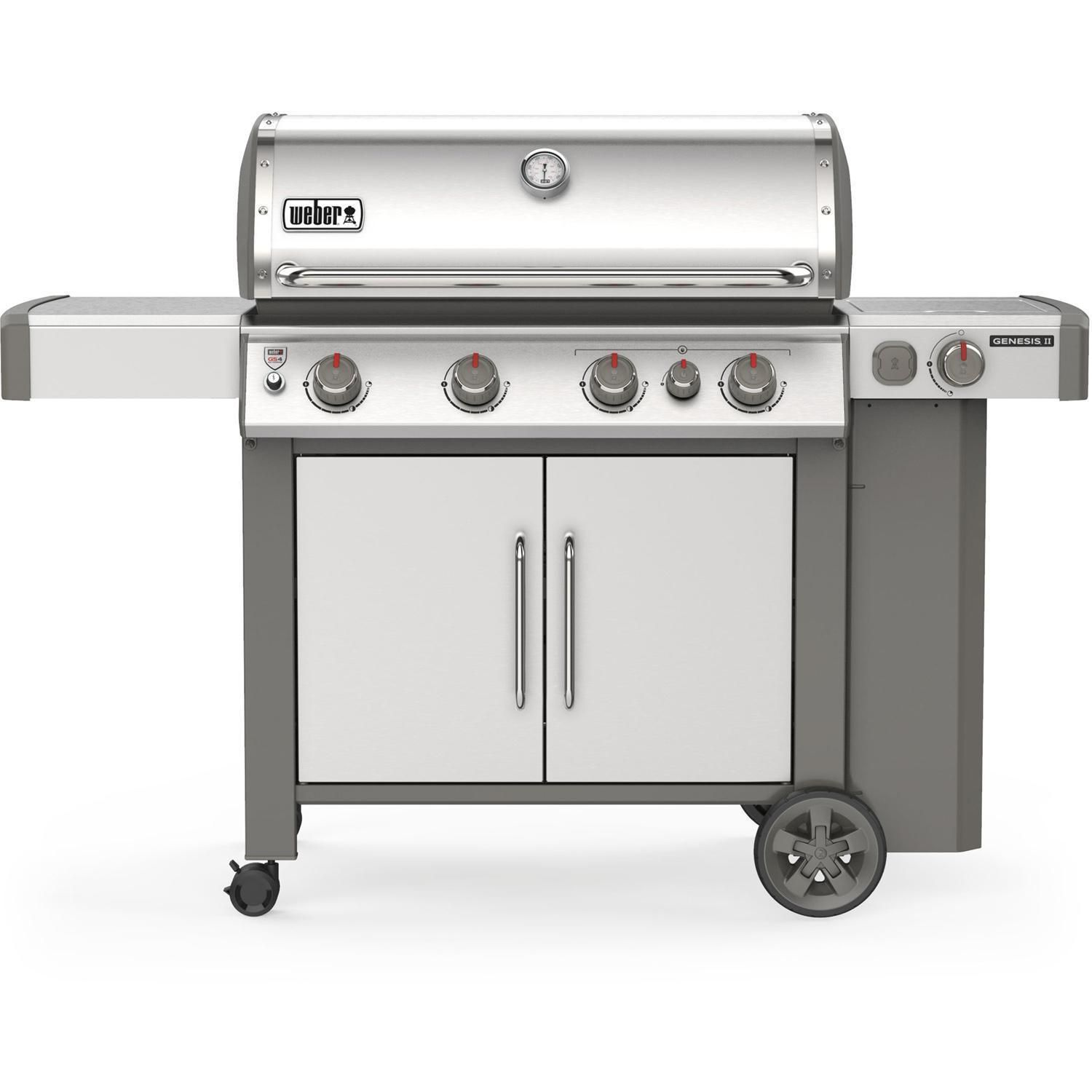 Weber 62006001 Genesis Ii S 435 Propane Grill Stainless Steel Bbqguys In 2020 Weber Gas Grills Propane Grill Backyard Grilling