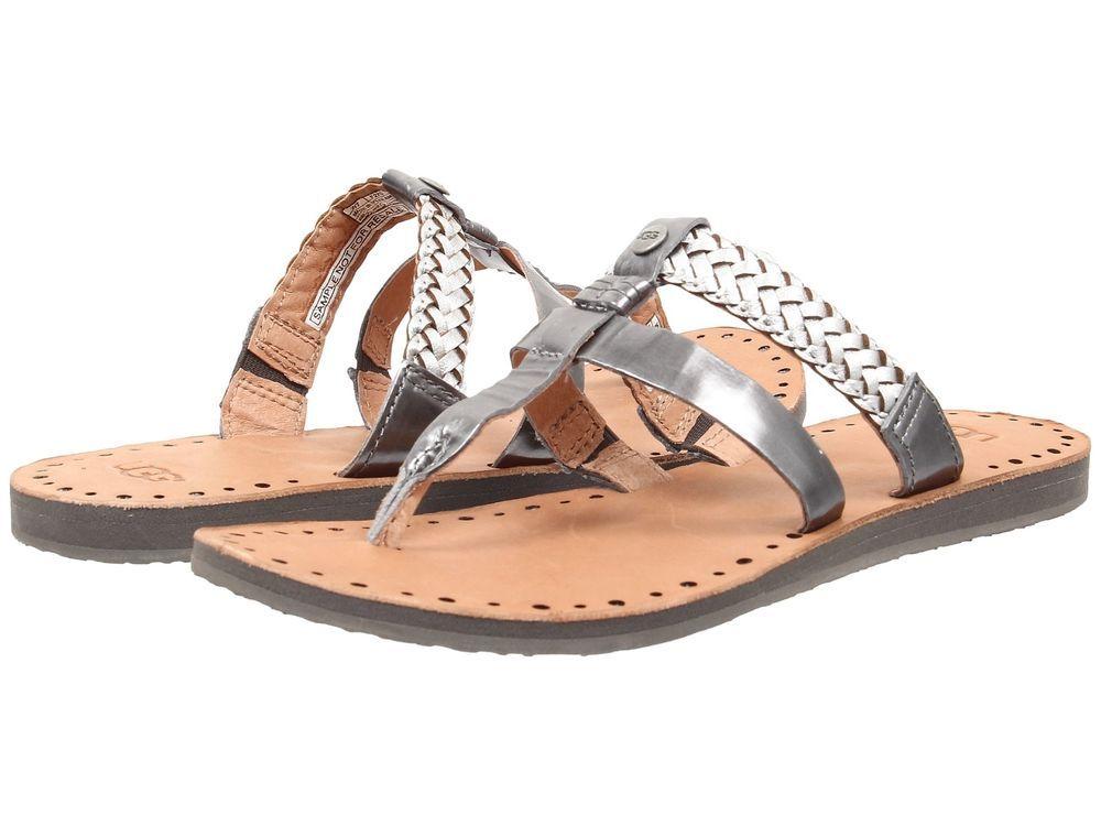 03af2f313a8 NEW UGG Audra Sterling Sandal Flip Flop - Size 9  UGGAustralia  FlipFlops