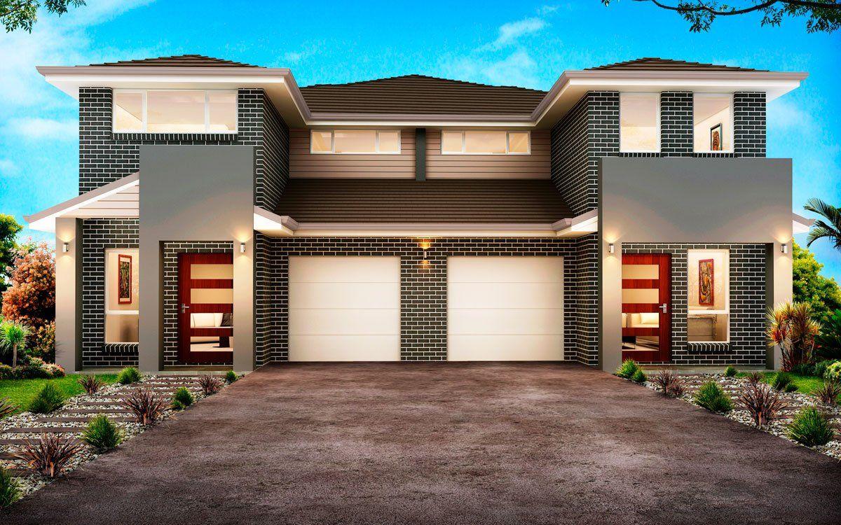 New Home Builders Richmond 49 9 Duplex Storey Home Designs Duplex Design Townhouse Designs New Home Builders