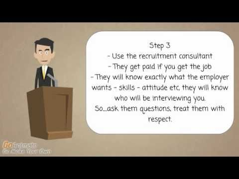 Interview Skills - Don't go to an interview until you have watched this. 4 important steps - YouTube