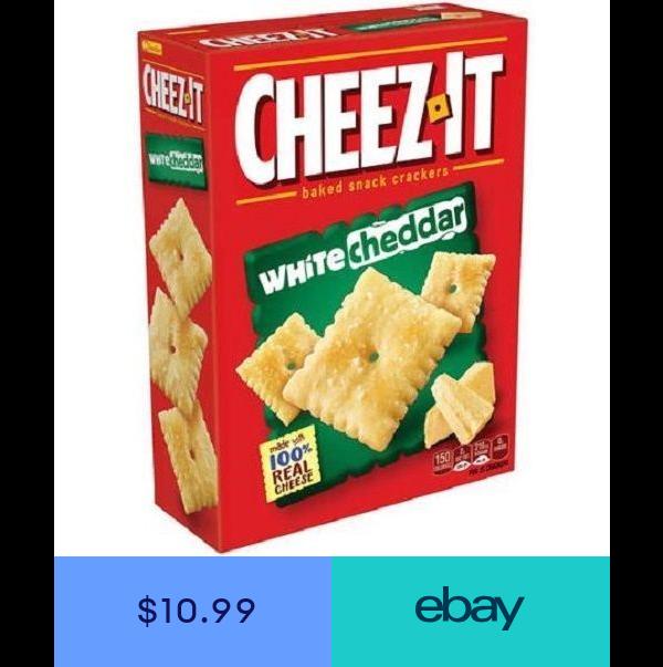 Cheez It Baked Snack Crackers No Bake Snacks Cracker Snacks Cheez It