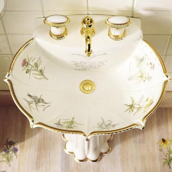 antique bathroom sink ebay classic vintage style cabinets uk green