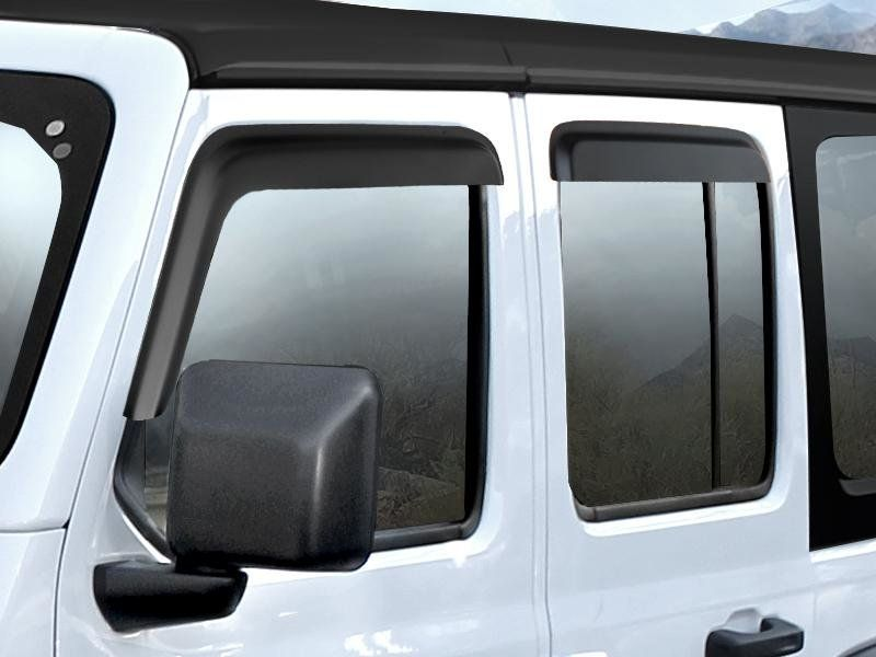Mopar Window Vent Visors For 2018 2020 Wrangler Jl And 2020 Gladiator Jt 82215372ab 82215368ab In 2020 Wrangler Jl Mopar Visors
