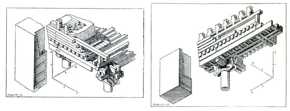 Persepolis Rec Iso Toit Tach Chipiez - Achaemenid architecture - Wikipedia, the free encyclopedia