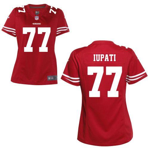 birthday wish :) Women's Mike Iupati Nike Game San Francisco 49ers ...