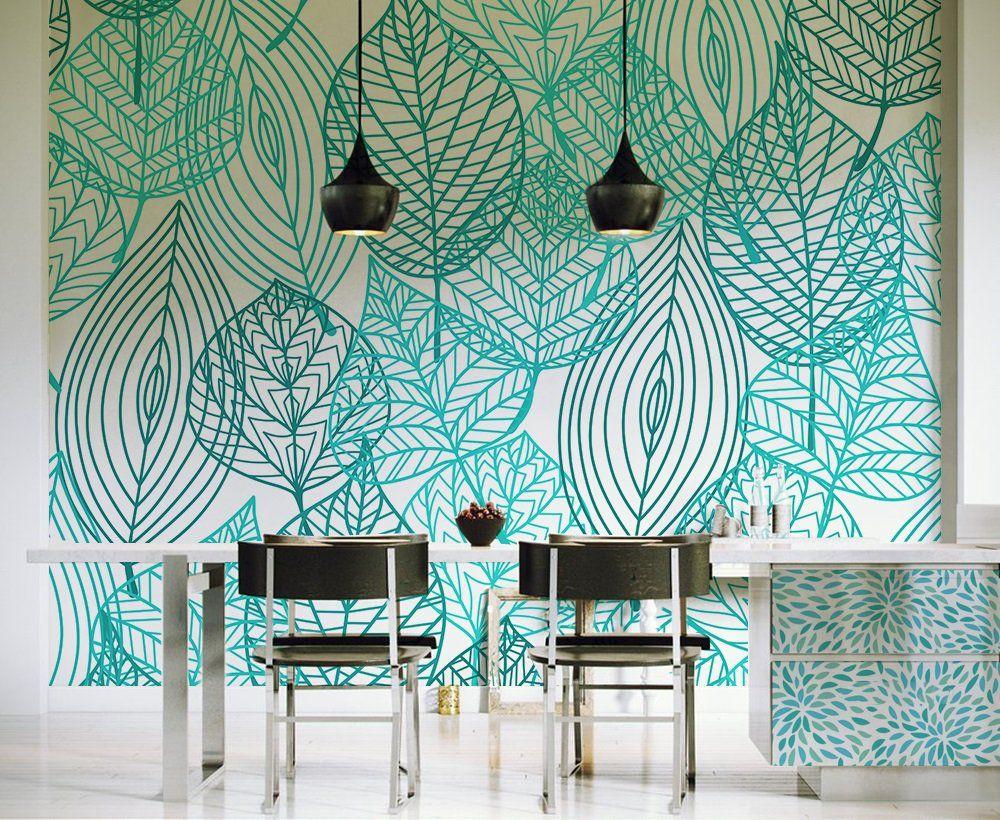 Papel tapiz personalizado a su gusto para decorar paredes for Murales para decoracion de interiores
