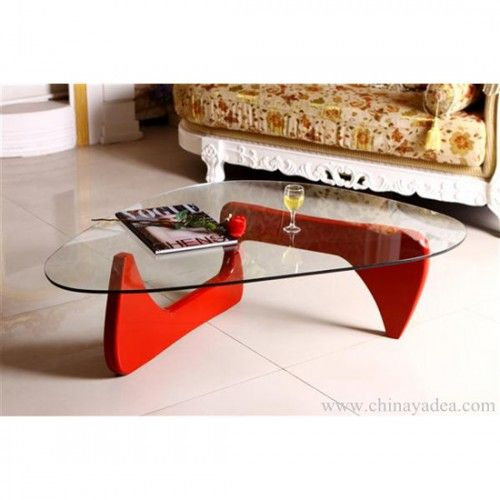 Modern Red Coffee Table Omuro Interer