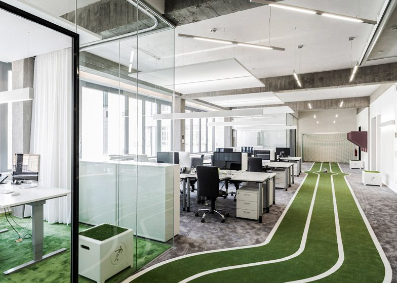 Cool offices: Onefootball HQ in Berlin, Germany