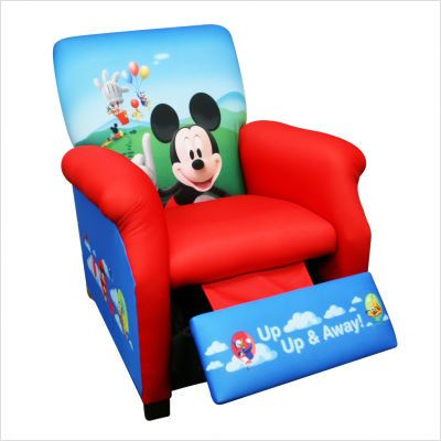 Disney Mickey Mouse Clubhouse Toddler Sofa Chair And Ottoman 3 Piece Furniture Setfeatures Mic