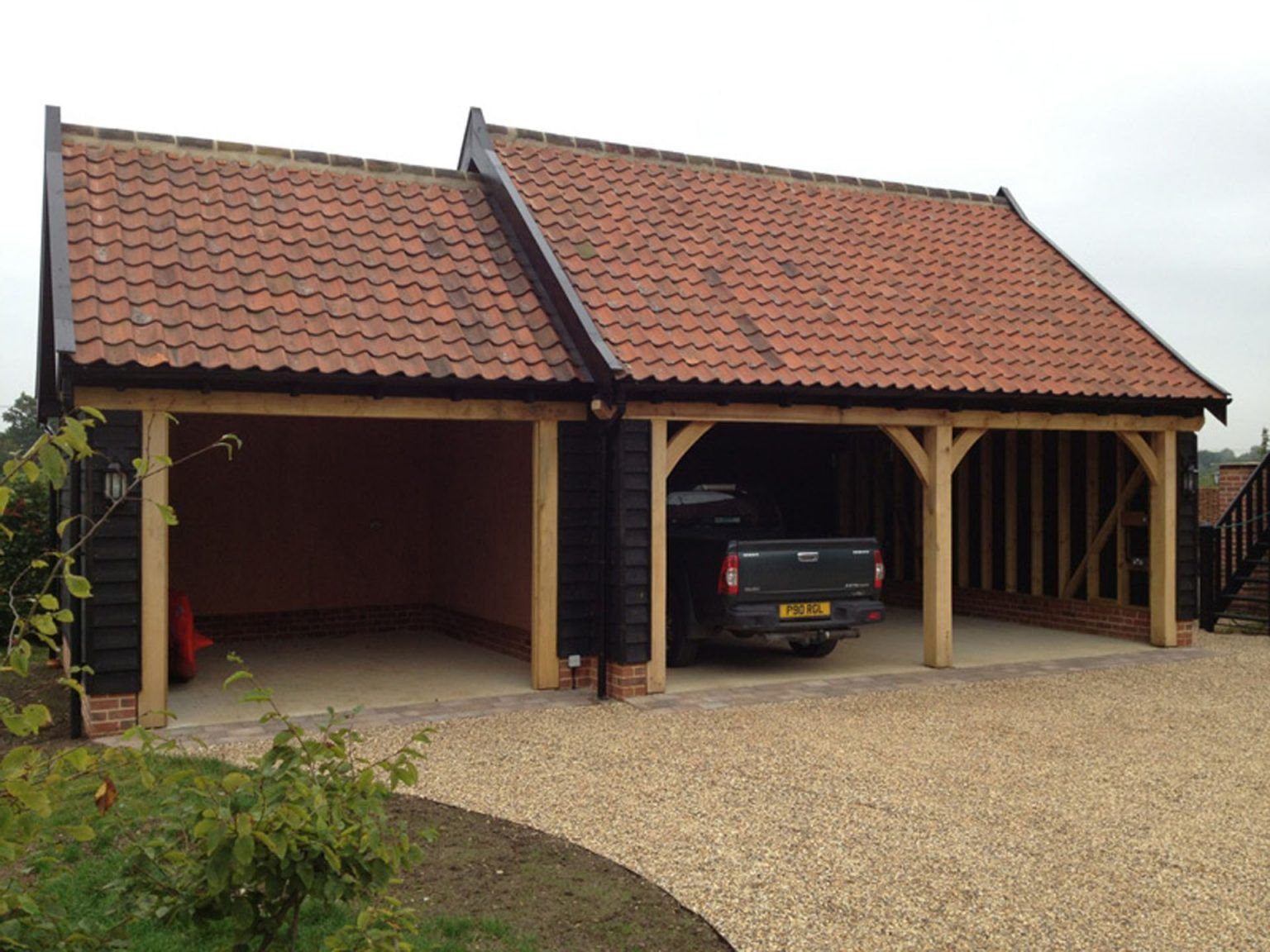 Garages and Car Ports in 2020 Timber frame construction