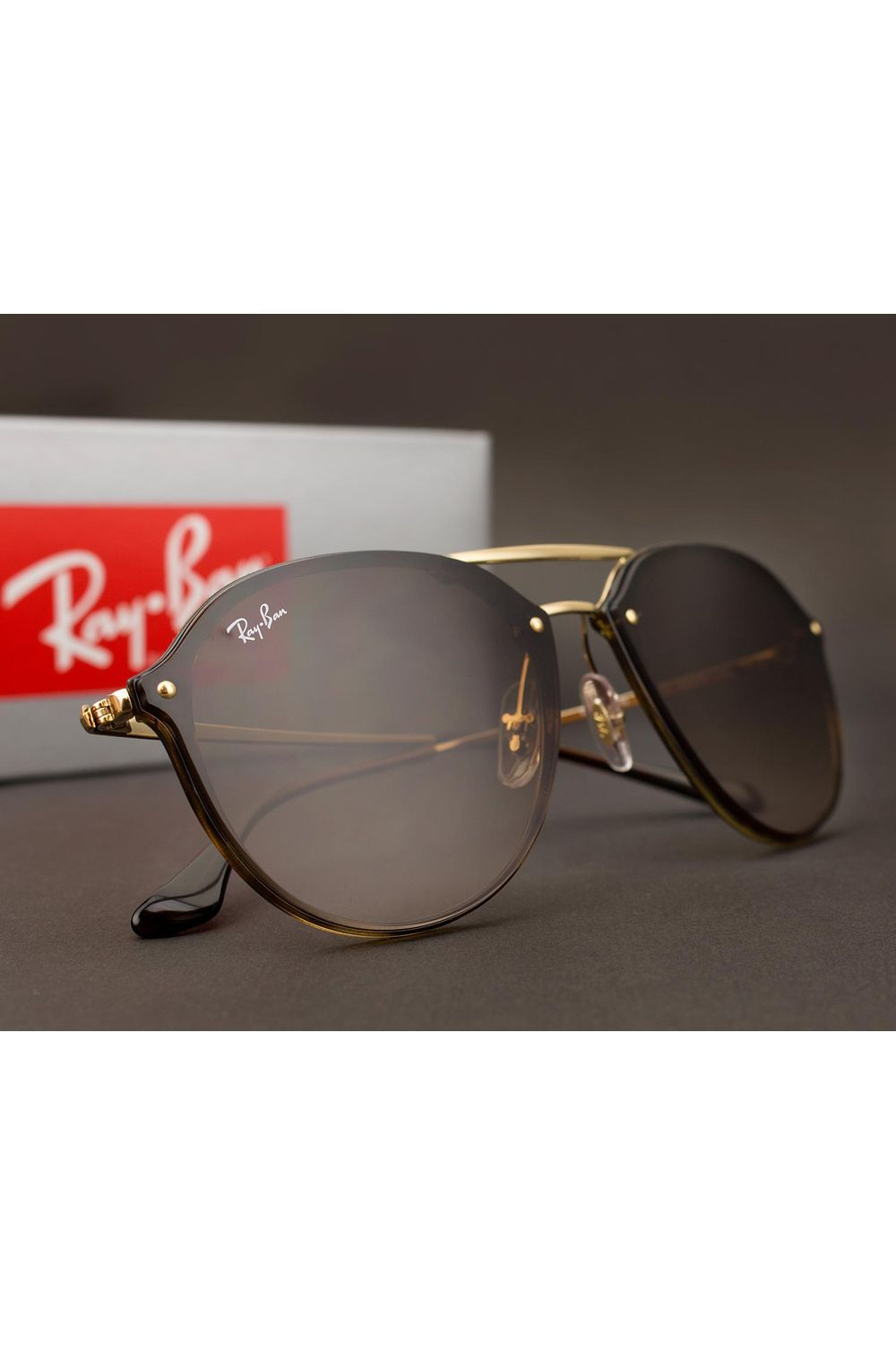 3eb9eff59cf86 Óculos de Sol Ray Ban Blaze Double Bridge RB4292N 710 13-62 ...