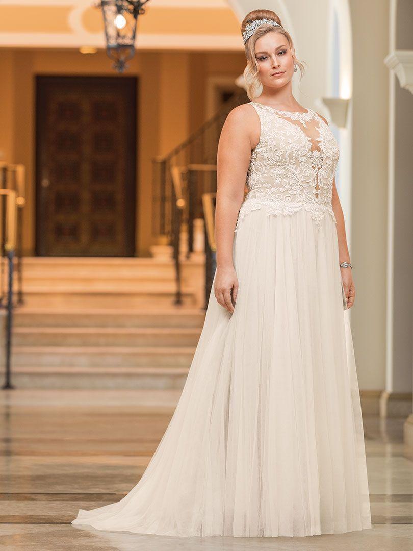 Style 2351 Eloise Casablanca Bridal Plus Size Wedding Dress