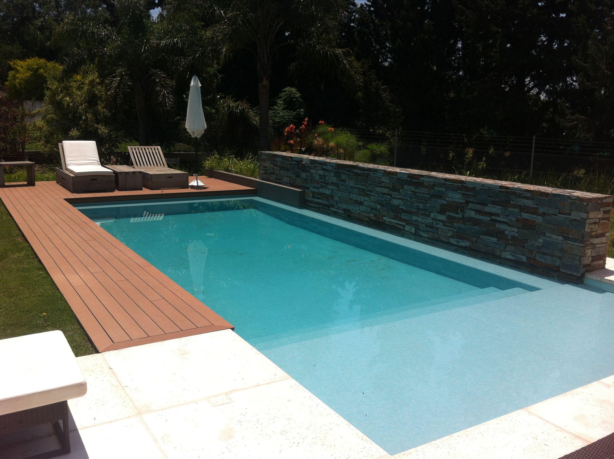 Piscina Swinning Pool Dise o Arquitectura Deck Solarium