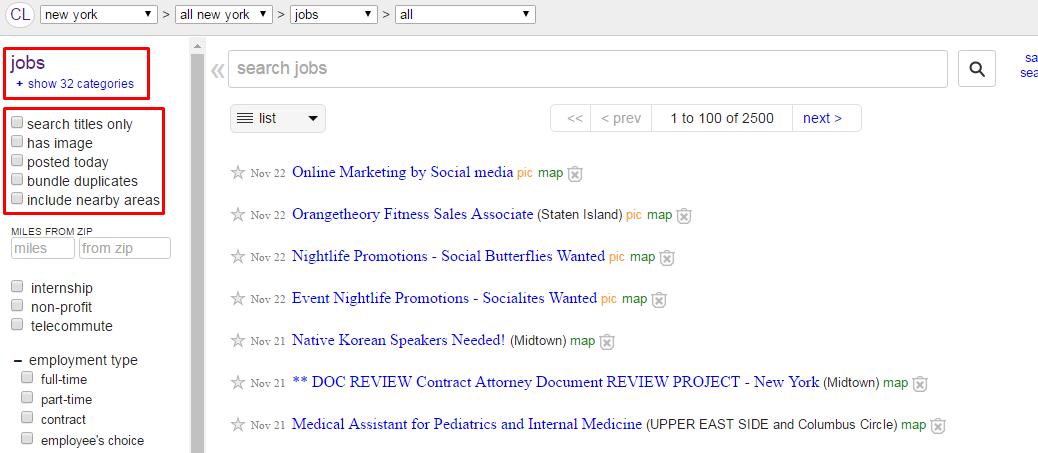 Craigslist for job feature Job posting, Orange theory