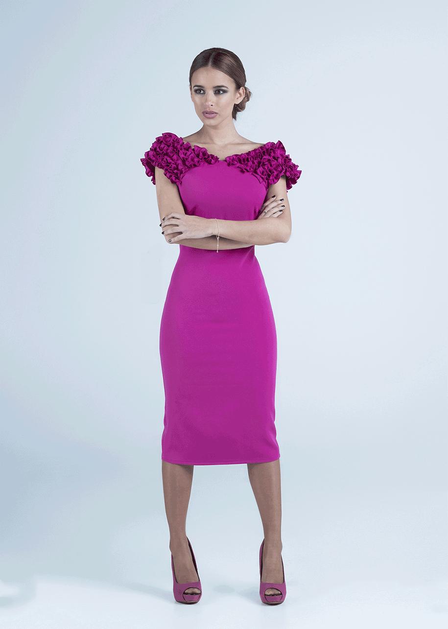 Vestido de invitada perfecta By Mariquita Trasquilá. Vestido de ...