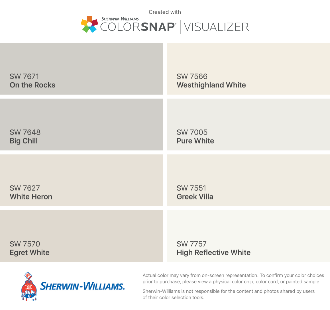 What Is The Difference Between Interior And Exterior Paint: I Found These Colors With ColorSnap® Visualizer For IPhone
