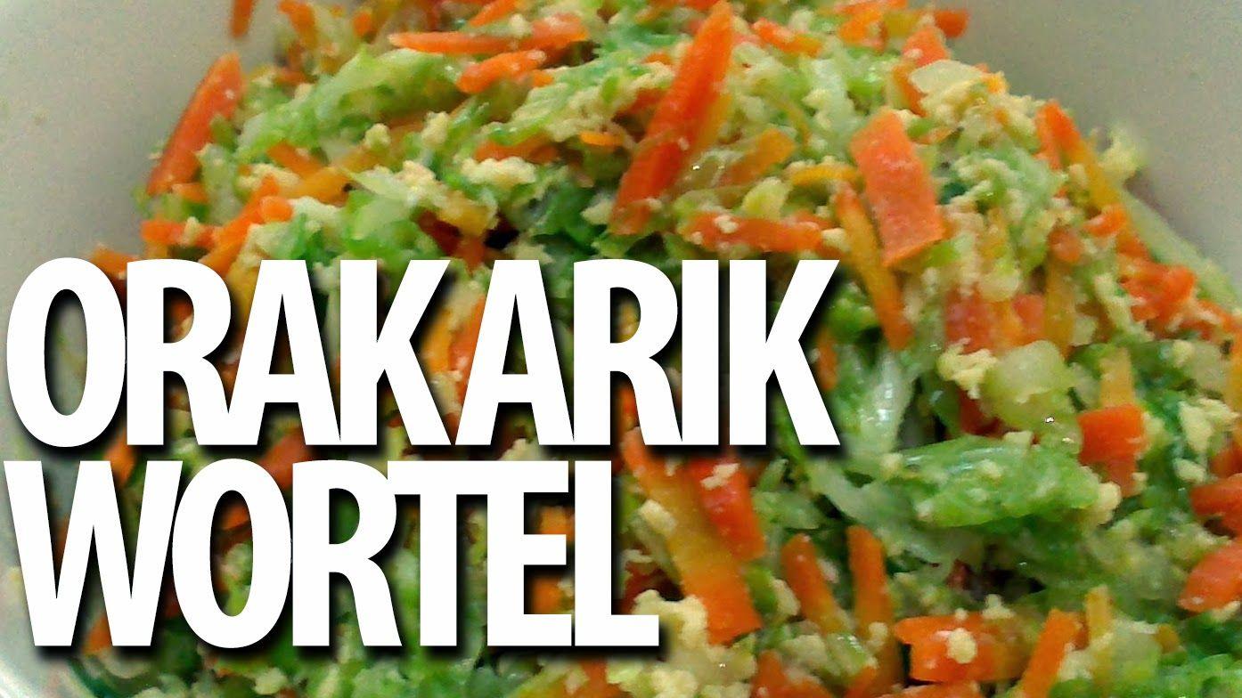 Masakan Praktis Rumahan Orak Arik Wortel Resep Masakan Resep Wortel