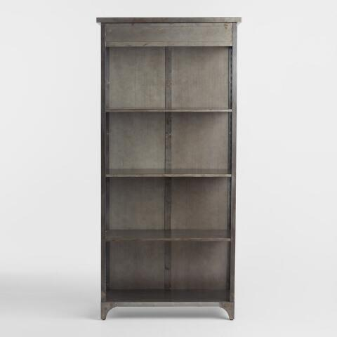 Metal Bexley Bookcase By World Market Bookcase Adjustable Shelving World Market Store