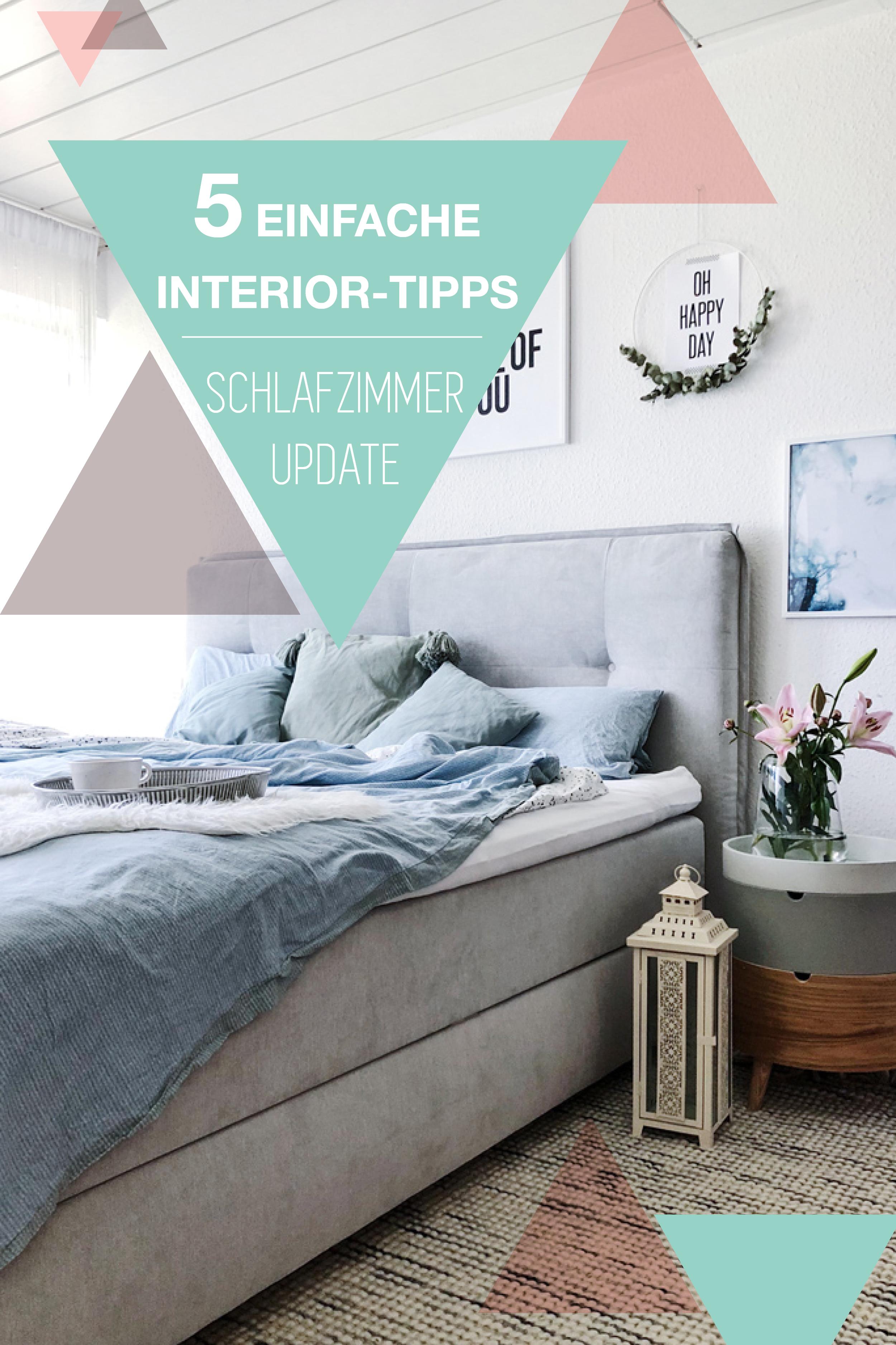 Schlafzimmer Einrichten Mit Einfachen Ideen Und Inspiration, Wie Du Dein  Schlafzimmer Gemütlicher Einrichten Kannst.