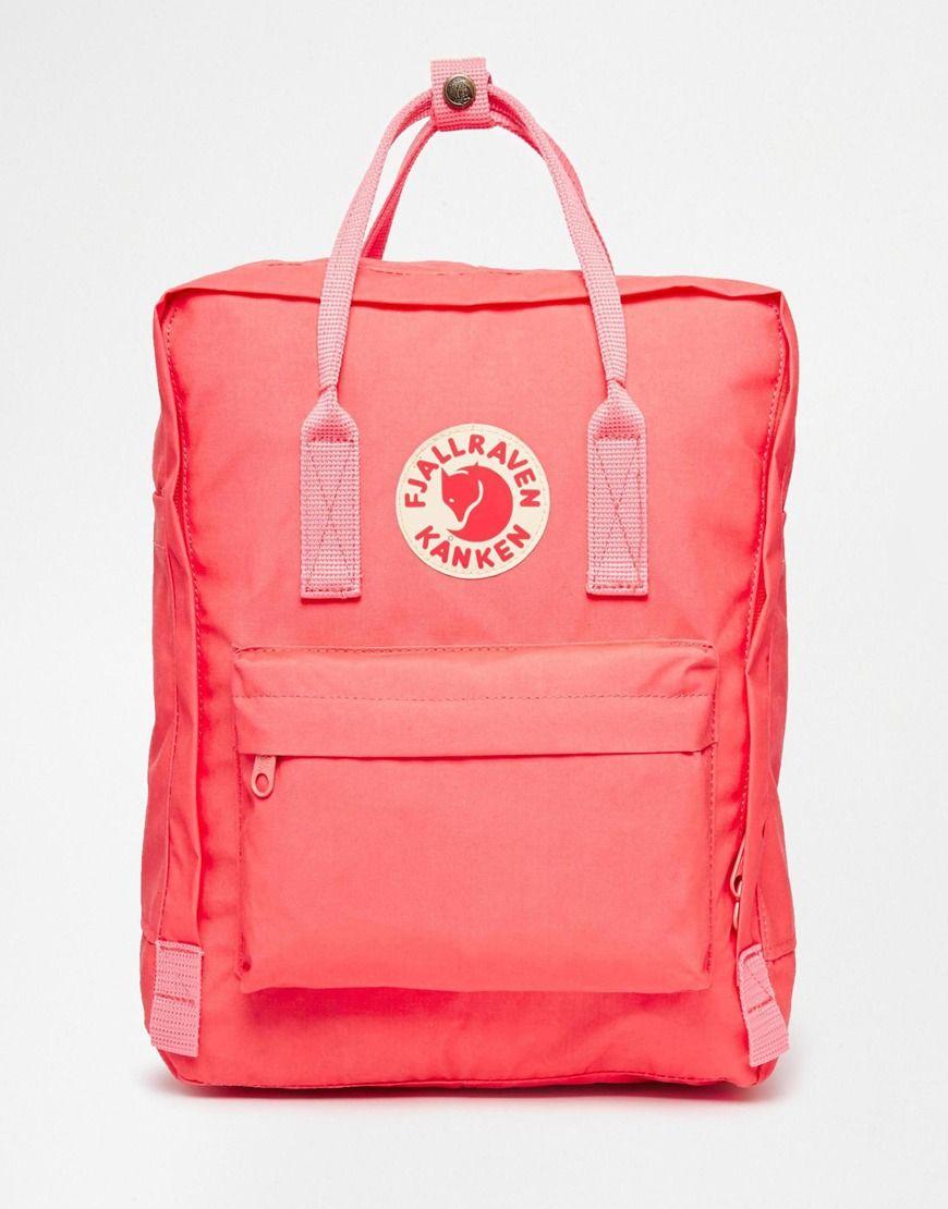fjallraven kanken classic backpack pink