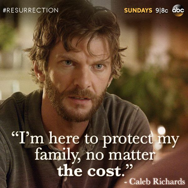How far will Caleb go to protect his family?