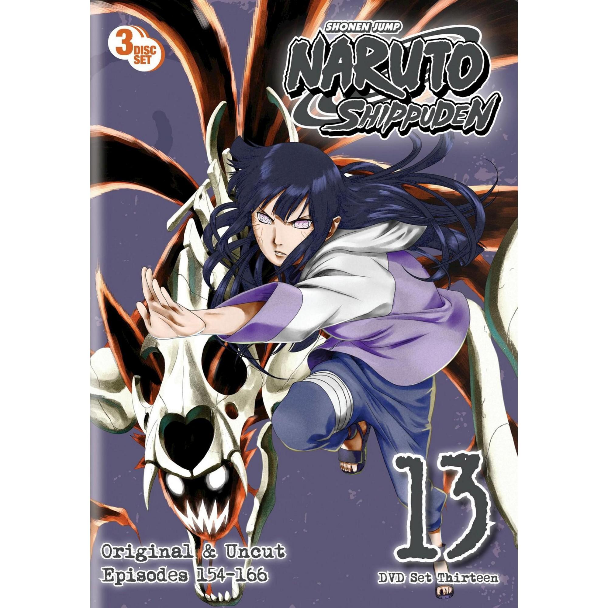 Naruto Shippuden Box Set 13 Dvd