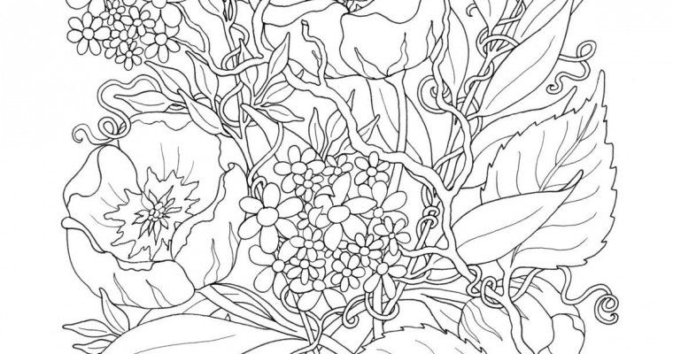 Free Printable Fall Coloring Pages For Adults | Coloring Pages ...