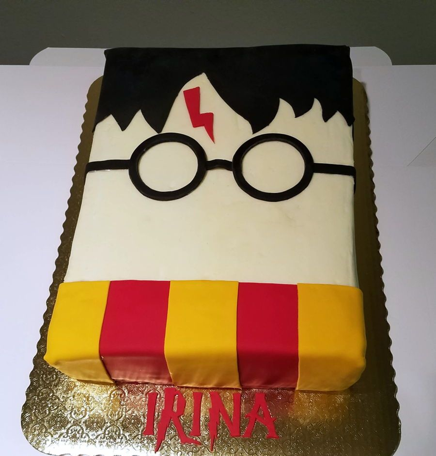 Harry Potter Cake With Images Harry Potter Birthday Cake