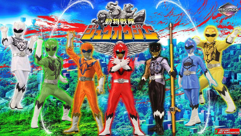Doubutsu Sentai Zyuohger by blakehunter deviantart com on