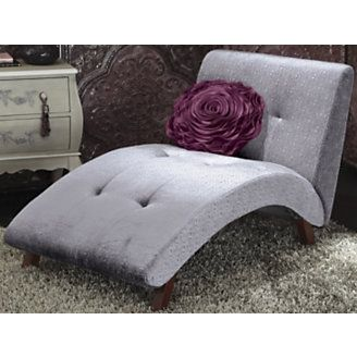 One day I will be in my own little place again and I will have a purple chaise lounge chair!