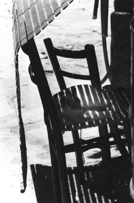 Ferdinando Scianna - Il gatto davanti alla porta (Isnello, Sicily, Italy, 1976.)