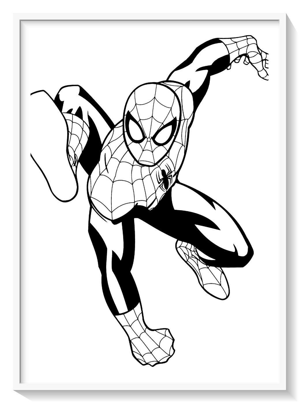 Los Mas Lindos Dibujos De Spiderman Hombre Arana Para Colorear Y Pinta En 2020 Hombre Arana Para Pintar Paginas Para Colorear Para Imprimir Imagenes Del Hombre Arana