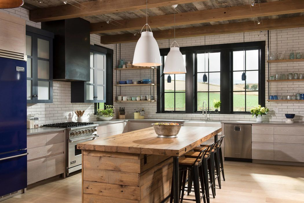 Inspiring farmhouse located in Bozeman Montana designed