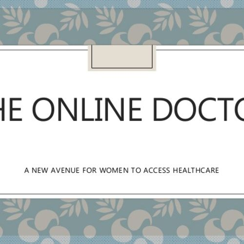 The Online Doctor A New Avenue For Woman To Access Healthcare  #Onlinedoctor #Onlinehealthcare #Onlineprescriptions #Doctoronline